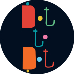 dot to dot round logo
